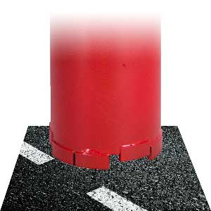 Asphaltbohrkrone Diamant Bohrkrone Asphalt