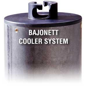 Cooler System Bajonett Diamant Bohrkrone Trockenbohrkrone