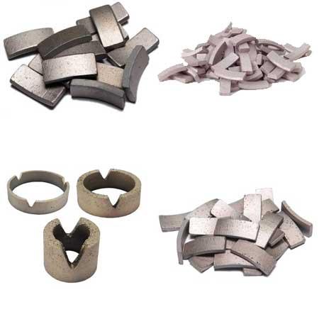 Diamantbohrsegmente Ringsegmente Diamantsegmente