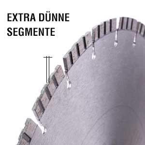 diamant trennscheibe holland duenn segment