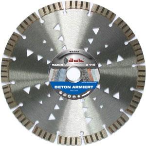 Hochwertige Diamanttrennscheibe Diamantscheibe für Beton und Granit Razor®