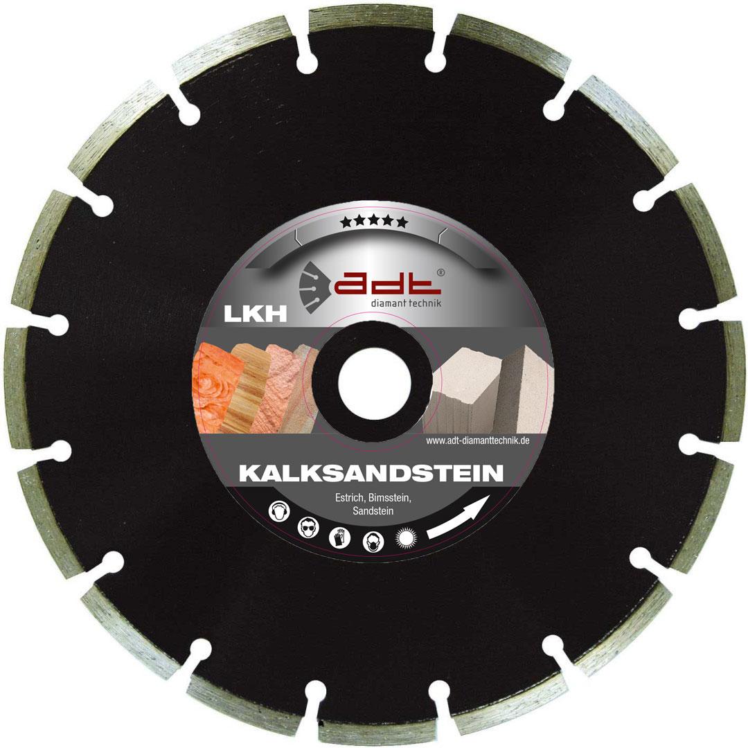 Diamantscheibe Mauerschlitzfräse Kalksandstein Bimsstein Estrich Sandstein LKH