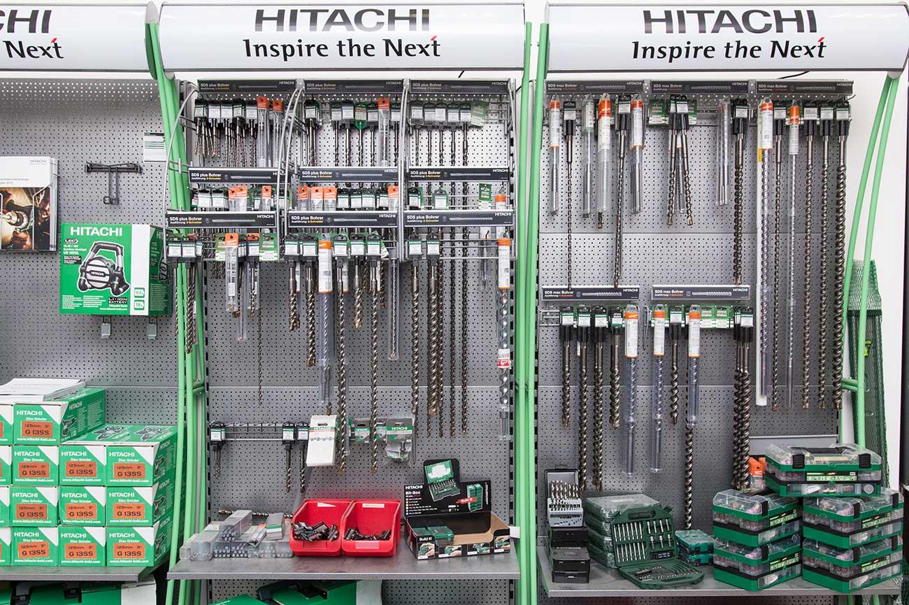 Hitachi Hammerbohrer Beton Bohrer SDS Plus SDS Max für Beton & Mauerwerk