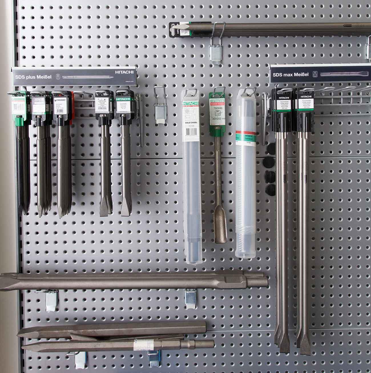 Hitachi Meißel für Hammerbohrer mit SDS Plus oder SDS Max Aufnahme