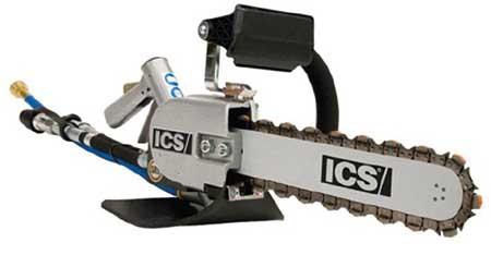 ICS Betonkettensägen Kettensägen hydraulisch Benzin