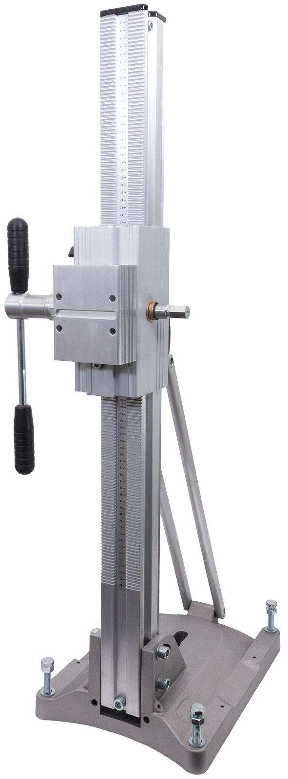 Kernbohrständer Kernbohrstativ Bohrstativ 300 mm Bohrkronen Alu Leichtbau Vakuum Kombi Fuß